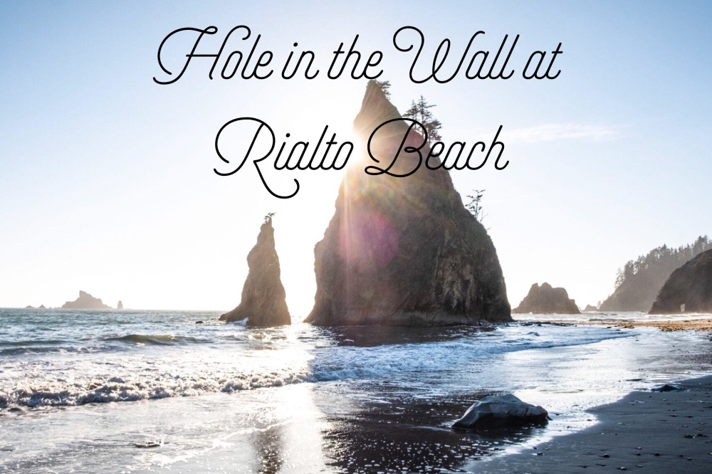 Hole in the Wall at Rialto Beach