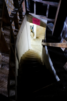 shady stairs